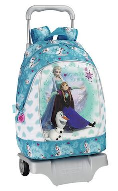 This Disney Frozen Backpack would be the perfect present for every girl that loves Elsa, Anna and Olaf!