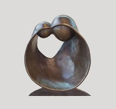 Ben Roth Design - Custom Sculpture, Public Art and Furniture - Wood, Metal, Clay, Bronze - Located in Jackson Hole Wyoming Sculpture Metal, Pottery Sculpture, Abstract Sculpture, Pottery Art, Soapstone Carving, Heavy Metal Art, Sculptures Céramiques, Mother And Child, Oeuvre D'art