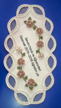 Güzel modeller Paper Pieced Quilt Patterns, Needle Lace, Bargello, Centre Pieces, Ribbon Embroidery, Doilies, Decoration, Tatting, Diy And Crafts