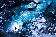 Vatnajökull-gletsjergrot, IJsland