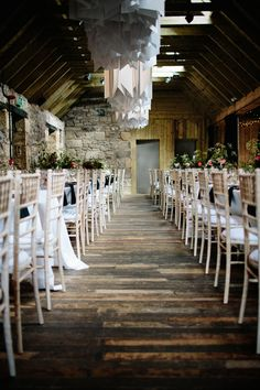 Images by Claudia Rose Carter - Byre at Inchyra Wedding Venue | The Old Cow Barn in Scotland | Rustic Barn Wedding | Contemporary Decor | Greenery & Pink Florals | Gold Accents | http://www.rockmywedding.co.uk/layla-alastair/