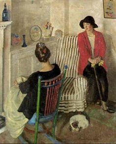 An interior by Harold Harvey