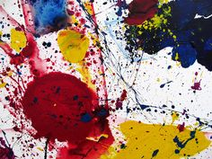 Abstract Expressionism, Abstract Art, Sam Francis, Western Art, Heart Art, Art World, Painters, Clever, Creativity