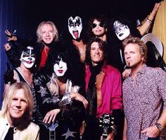 Kiss and Aerosmith