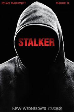 STALKER Season 1 Poster new CBS TV Series drama starring Maggie Q and Dylan McDermott