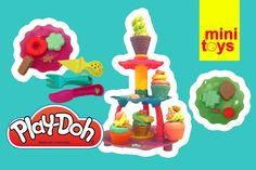 ❤ Play Doh Cupcakes Sweet Shoppe Ice Cream ❤