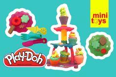 ❤ Play Doh Cupcakes Sweet Shoppe Ice Cream ❤