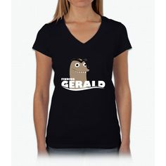 Finding Gerald Womens V-Neck T-Shirt