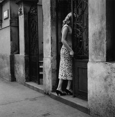 Photographer Gunnar Smoliansky's striking black-and-white images capture Stockholm in the 1950s.
