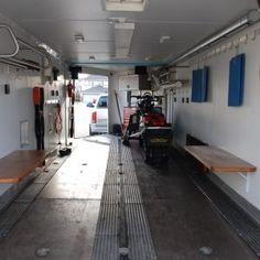 38 best enclosed trailer interiors images trailer interior rh pinterest com
