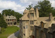 American Life in Early Stages – Fonthill Castle (Doylestown, Pa. Beautiful Castles, Beautiful Buildings, Beautiful Places, Medieval Town, Medieval Gothic, American Life, Early American, Great Places, Places To Go