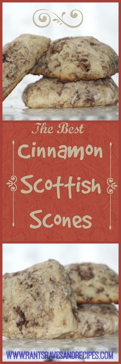 Warm and Buttery you can't beat a cinnamon Scottish scone for a great breakfast or brunch treat!