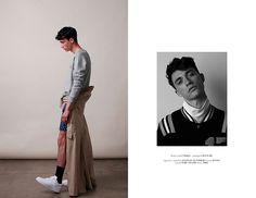 Jacob Bixenman at Ford LA photographed by Tyler Adams and styled by Debbie Gonzales with pieces from Acne Studios, Band of Outsiders, Calvin Klein, Marc Jacobs and more, in exclusive for Fucking Young! Online.