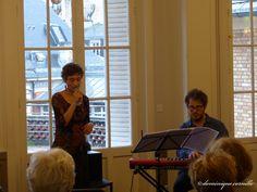 """Concert """"Jazz en fleurs"""" avec Virginie Capizzi et Stéphane Tsapis . ©D.Cornille - Pôle Images - AgroParisTech – à AgroParisTech."""