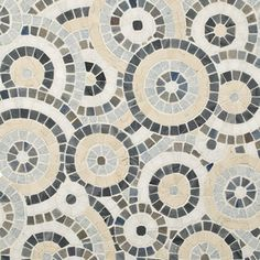 Celestial Starry Blue Polished Mosaic - contemporary - tile - by Artistic Tile