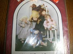 "Dream Spinners Patterns #156 K.T.And Company 32"" Doll w/ Five Differant Outfits by TexasTAndT on Etsy"