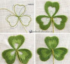 Wonderful Ribbon Embroidery Flowers by Hand Ideas. Enchanting Ribbon Embroidery Flowers by Hand Ideas. Embroidery Leaf, Hand Embroidery Stitches, Silk Ribbon Embroidery, Learn Embroidery, Hand Embroidery Designs, Embroidery Techniques, Embroidery Kits, Cross Stitch Embroidery, Simple Embroidery