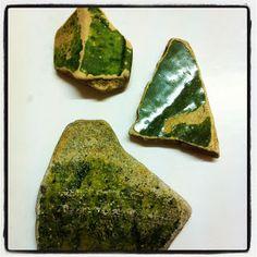 Green Glazed Pottery