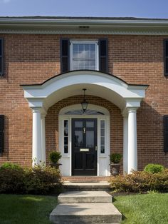 Traditional Entry Front Steps Design, Pictures, Remodel, Decor and Ideas - page 23
