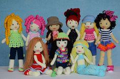 #amigurumi #dolls - Lily doll pattern