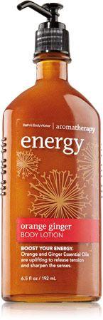 Bath & Body Works Orange Ginger Energy lotion