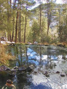 wilderness hot springs