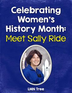 Classroom Freebies: Women's History Month Biography of Sally Ride