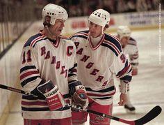 Марк Мессье и Уэйн Гретцки Mark Messier and Wayne Gretzky #хоккей #hockey