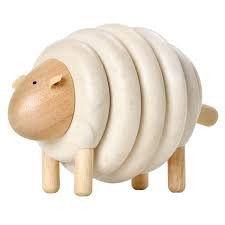 Wooden Lacing Sheep