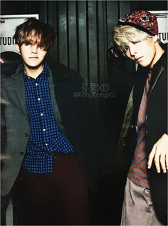 Junhyung and Dongwoon of B2ST