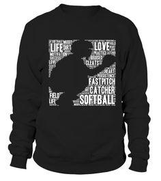 Softball Catcher Fastpitch T Shirt Softball Mom Youth Kid  #softball #ssoftballmom #mom #shirt #tshirt #tee #gift #perfectgift #birthday #Christmas #motherday