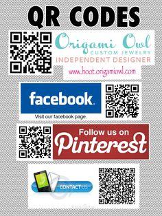 Origami Owl - QR Codes