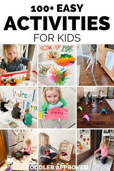 Daily Homeschool Schedule for Kids Fun Summer Activities, Creative Activities, Infant Activities, Children Activities, Kids Schedule, Summer Fun For Kids, Preschool Crafts, Preschool Ideas, Teaching Kids