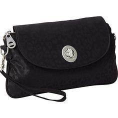 baggallini Monaco Clutch Cheetah B - baggallini Fabric Handbags