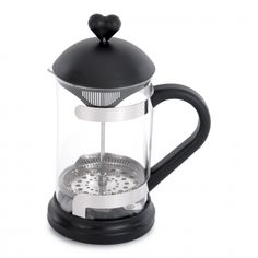 Shop for BergHOFF Lover by Lover Black Stainless Steel and Glass Coffee Press and Tea Plunger. Get free delivery On EVERYTHING* Overstock - Your Online Kitchen & Dining Outlet Store! Tea Tray, Tea Box, Loose Tea Infuser, Coffee Cups, Coffee Maker, Tea Warmer, Heat Resistant Glass, Shops, Coffee Filters