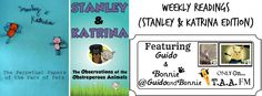 Weekly Readings (Stanley & Katrina Edition) Wow! Not only did @TAA_Editor host a stop on our Book Blasty Tour, AND Review our book, but they ALSO created a fan #video trailer for our book. THANK YOU! #happydancingpaws