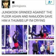 Well he didn't grind he just did his handstand thing BUT STILL GDI KOOKIE