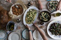 moroccan dinner party menu