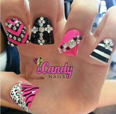 ♥ Fab duck nails