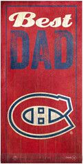 NHL - Best Dad - Montreal Canadiens Wooden Sign Of Montreal, Montreal Canadiens, Sport, Best Dad, Wooden Signs, Nhl, Dads, Colours, Cool Stuff