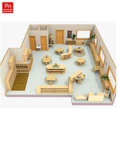 classroom layouts for montessori - Google Search