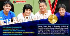 Champions are trained under experienced & watchful eye. But when the right opportunities comes their way, they strike with the best of their efforts to gain glory. Here is the story of one such champion Geeta Phogat who have not only touched glory but have also made India proud of her achievements. Explore more about their achievements. Explore more at http://bit.ly/1HNaVok