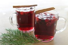 Cranberry & Pinot Noir Mulled Wine by ONEHOPE Wine