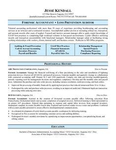 forensic accountant resume httptopresumeinfo201502 - Staff Accountant Resume Sample