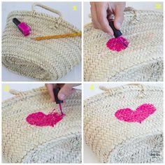 Cómo pintar una cesta y ganador del Sorteo de Petit-on