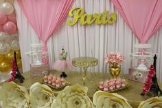 Parisian Baby Shower  Baby Shower Party Ideas | Photo 1 of 16