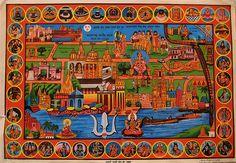 Pilgrim's Map of Kashi