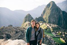 Amazing Honeymoon Destinations for Adventurous Newlyweds // Machu Picchu, Peru with Gal Meets Glam