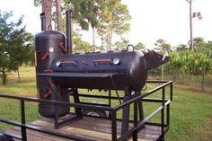DIY BBQ & SMOKER