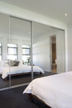Sliding mirror doors www.wardrobesbyfederation.com